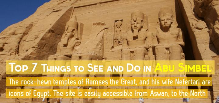 Temple Ramses Great Abu Simbel