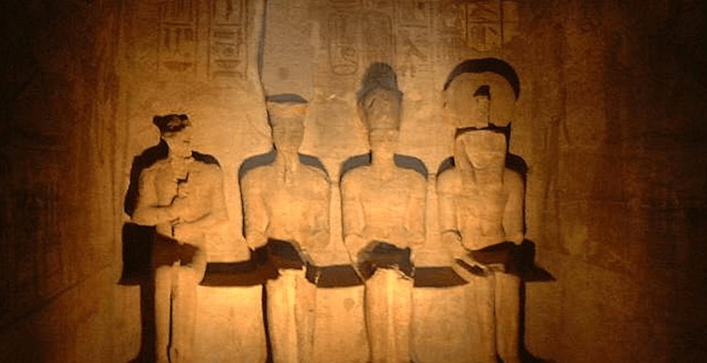 Abu Simbel Ptah Amun Ramses Ra Dieties