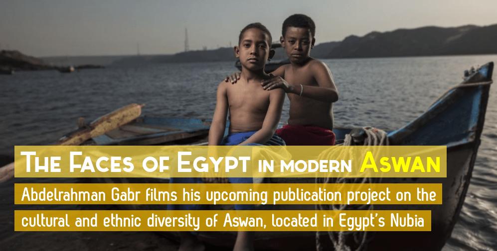 Egyptian Sidekick Faces of Egypt in Aswan