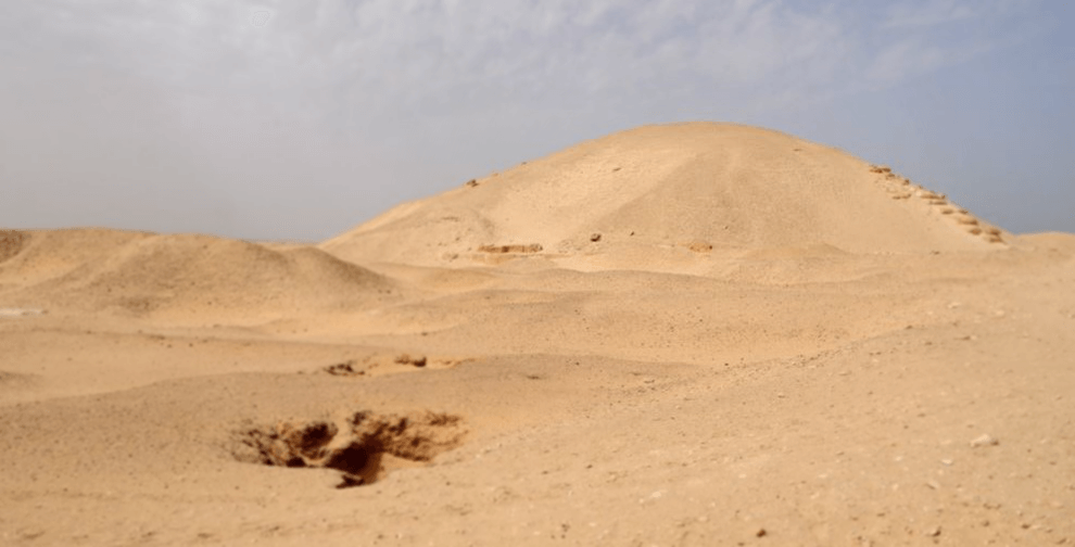 Egyptian Sidekick Fayoum Lisht Pyramid