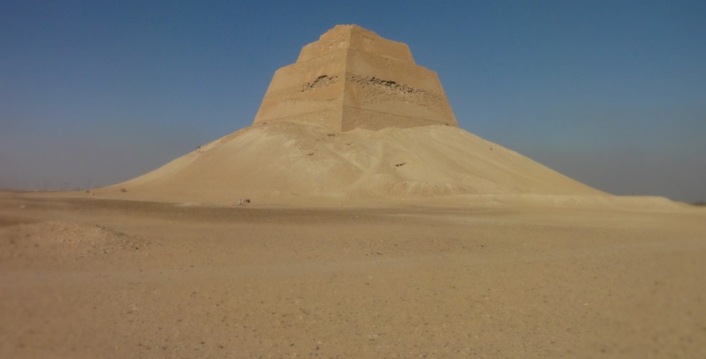 Egyptian Sidekick Fayoum Meidum Pyramid
