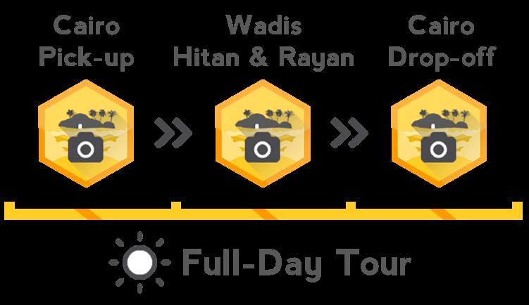 Egyptian Sidekick Fayoum Tour Infographic Large