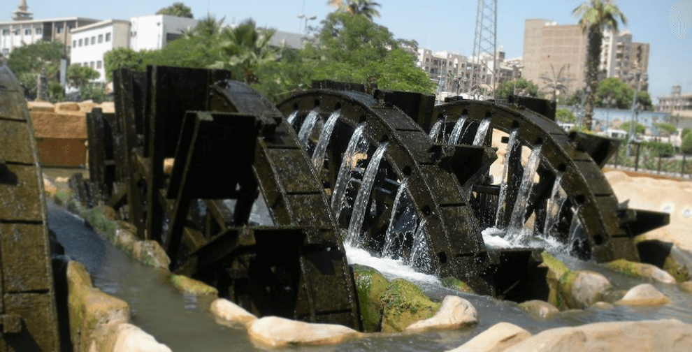 Egyptian Sidekick Fayoum Water Wheels