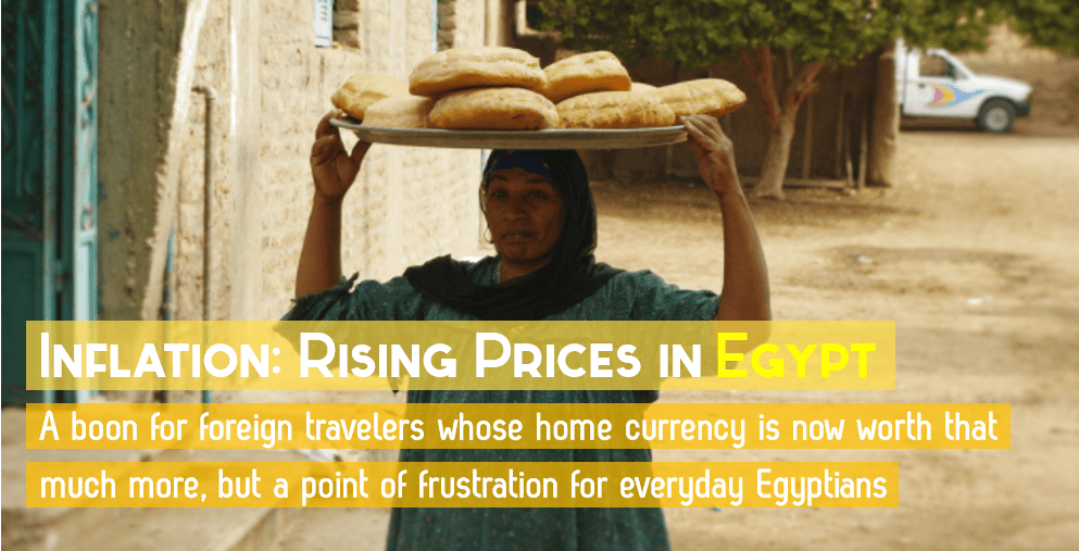 Inflation Rising Prices in Egypt