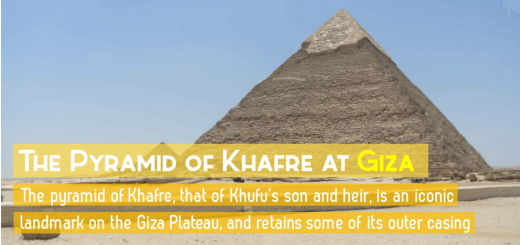 EgyptianSidekickKhafrePyramidFeatured