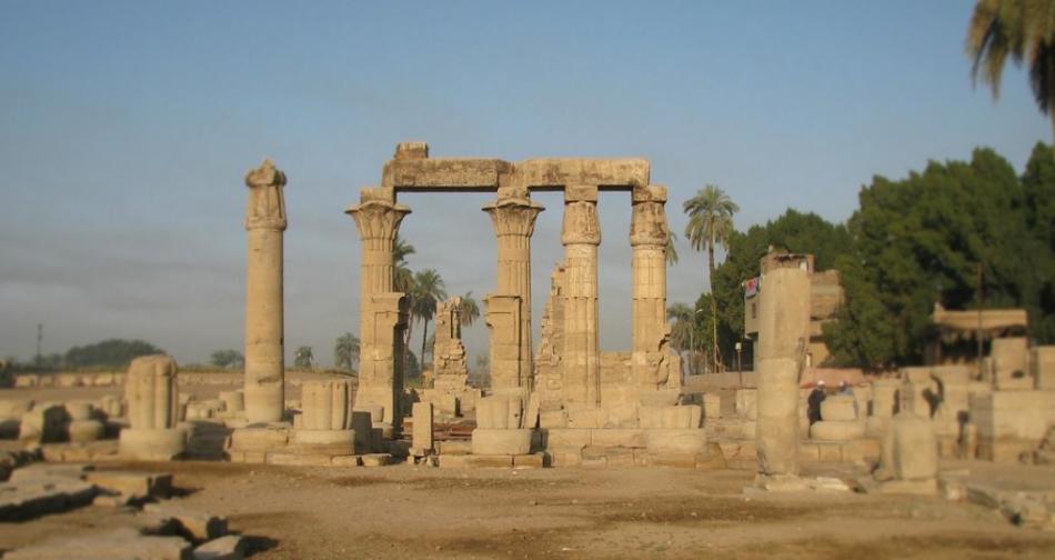 Montu Temple Medamud Luxor